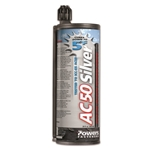 Powers AC50 Silver Adhesive 28 oz. Tube 8497