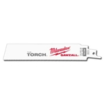"MILWAUKEE Sawzall Blade, Torch 6""L - 14 TPI (25 per Pack) 48-00-8782"