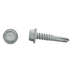 Dril-Flex Tek Screw #12-14 x 1'' Hex Washer Head (100/Box)