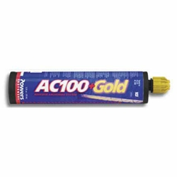 Powers AC100+ Gold Concrete Adhesive Anchoring System 8478SD Lowest Prices Online | FastenMSC