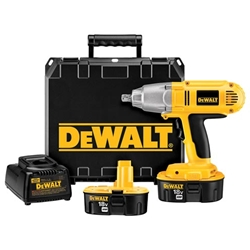 Dewalt DW059K-2 18V Cordless XRP™ 1/2-in Impact Wrench Kit