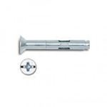 Powers Combo Flat Head Lok-Bolt 1/4'' x 3'' Stainless Steel 6172S (100/Box)