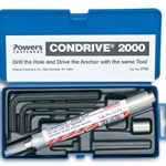 Condrive 2000 Tapcon Installation Kit 2792