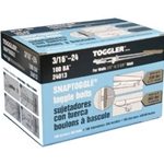 Toggler 3/16'' Snap Toggle 24013 Heavy Duty (100/Box)