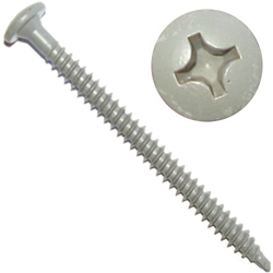DEKFAST #12 x 1-5/8'' #3 Phillips Pan Head Deck Screw (100)