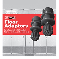 ZipWall - Floor Adaptor