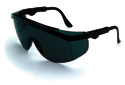 CREWS Clear Lens Safety Glasses, Tomahawk
